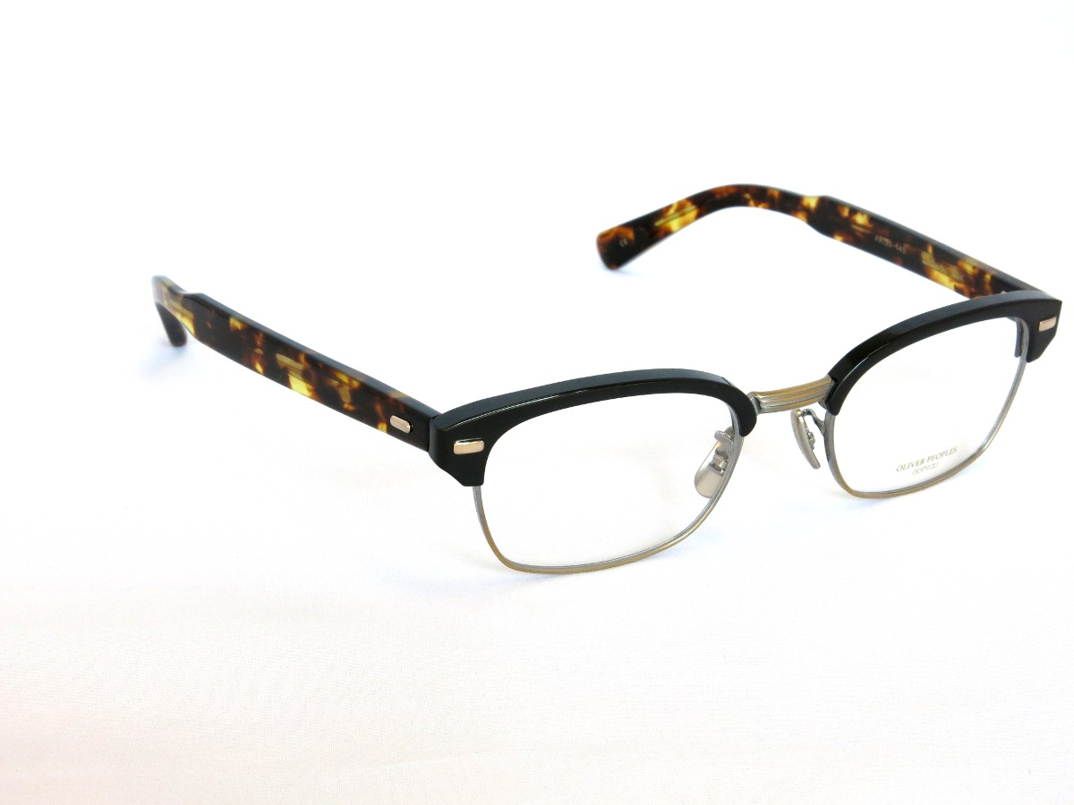 OLIVER PEOPLES DARBY MBK(フロント:ブラック サイド:べっ甲柄)