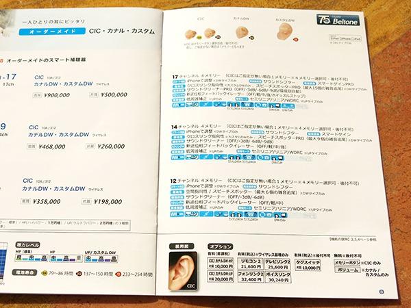 トミナガの補聴器 提案