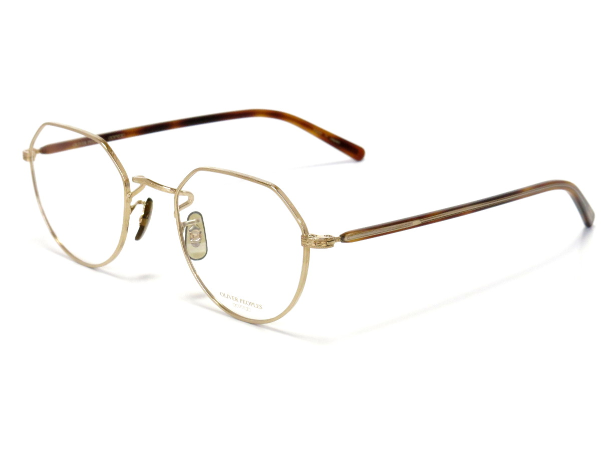 OLIVER PEOPLES OP-43T col.G(ゴールド)