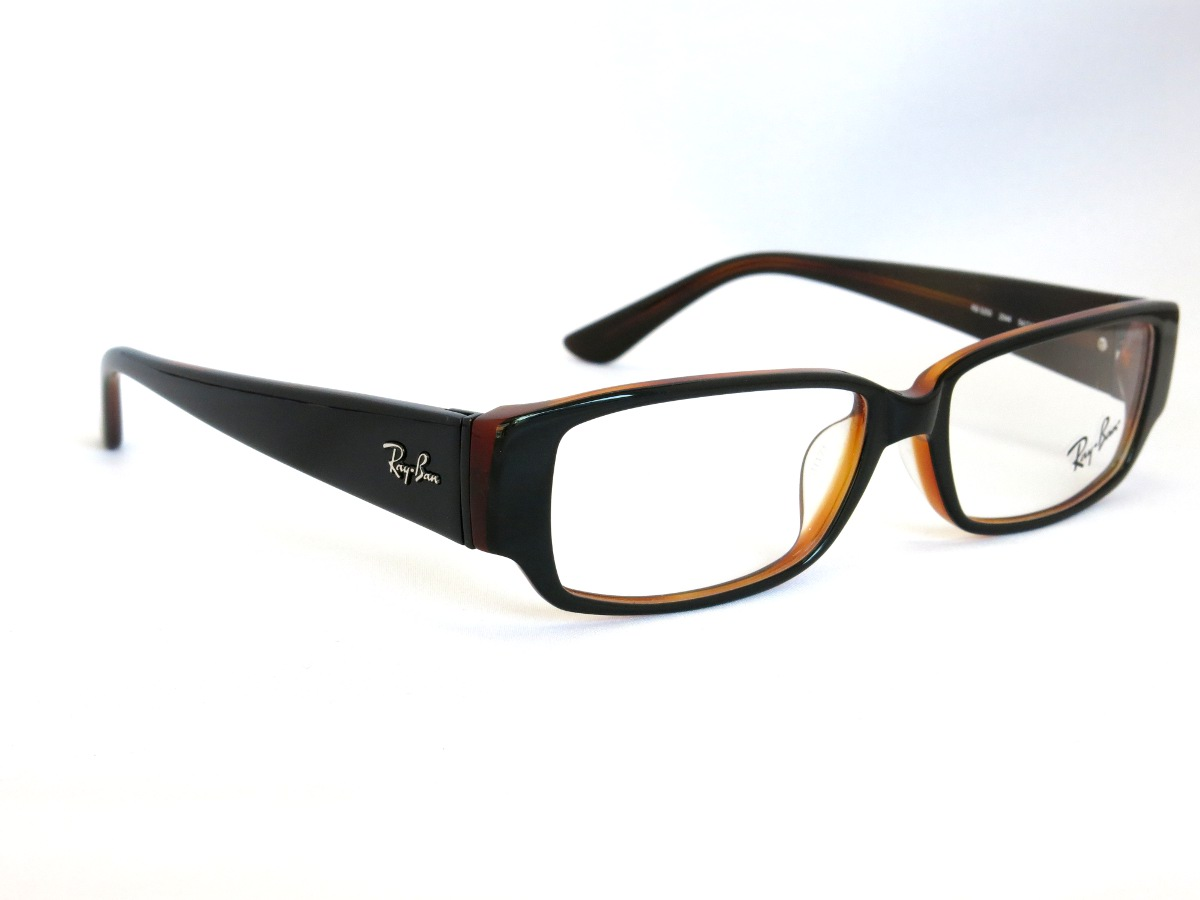 RayBan RB5250 2044(ブラック&オレンジ)