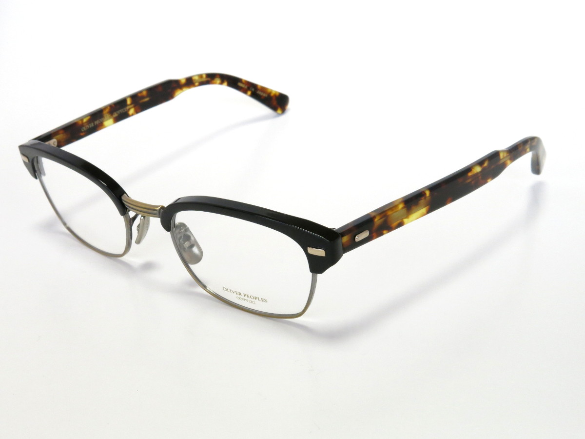 OLIVER PEOPLES DARBY COL.MBK(アンティークゴールド&べっ甲)